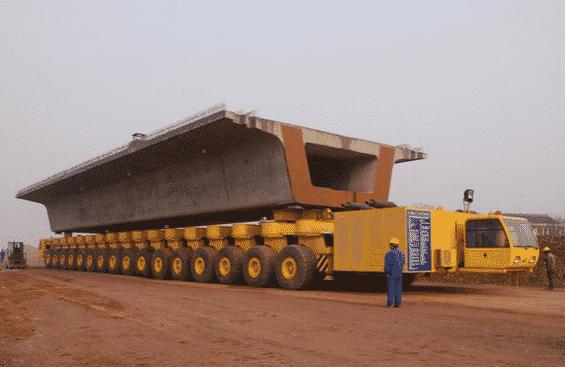 16-Wheel Beam Carrier for standardized…