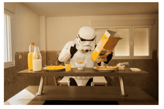 What imperial stormtroopers do when…