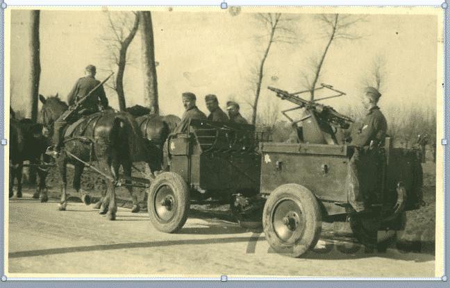 Gleichzeitigkeit des Ungleichzeitigen: Wehrmacht Horse-drawn…