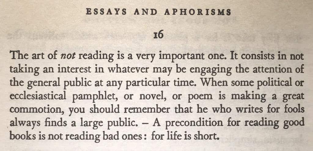 RT @mattyglesias: Schopenhauer's critique of…