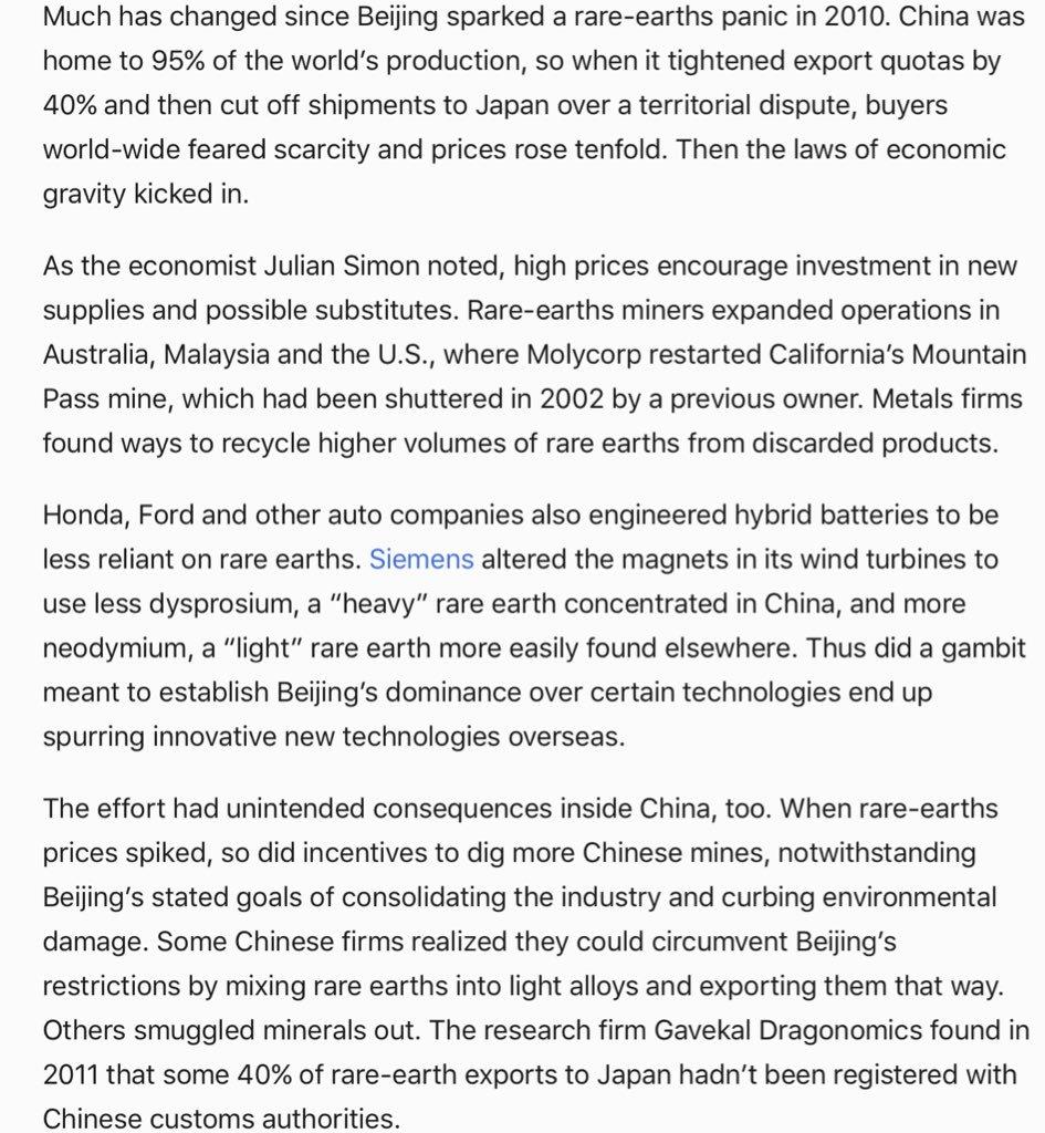 """RT @scottlincicome: China """"rare earth""""…"""