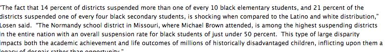 Extraordinary racialized discipline in American…