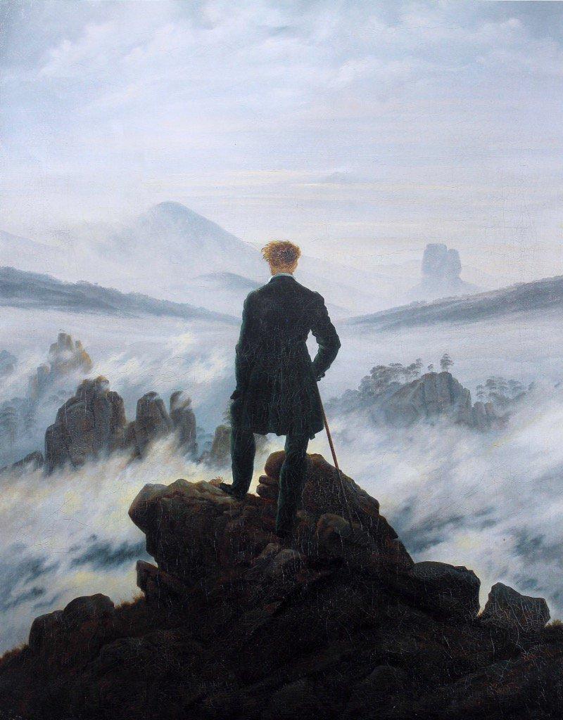 RT @EuropesHistory: Wanderer Above a…
