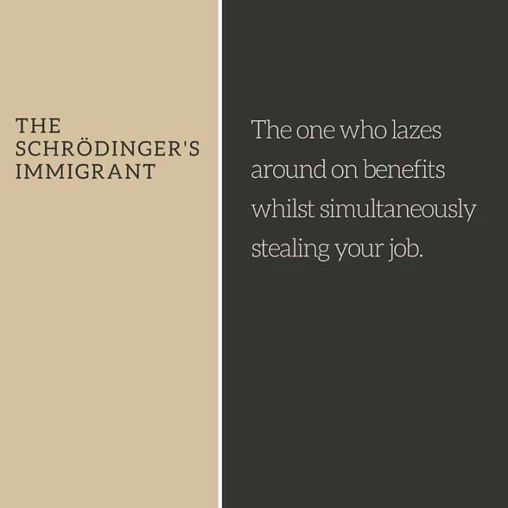 RT @Soc_Imagination: The Schrödinger's #Immigrant…