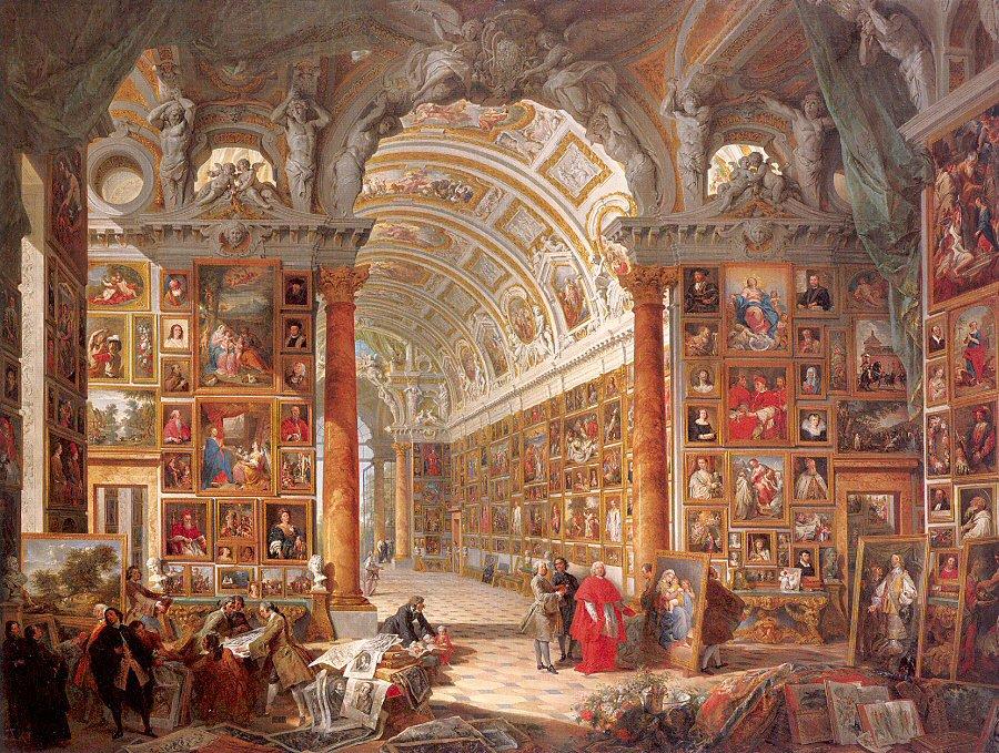 RT @EuropesHistory: Cardinal Gonzaga's Gallery…