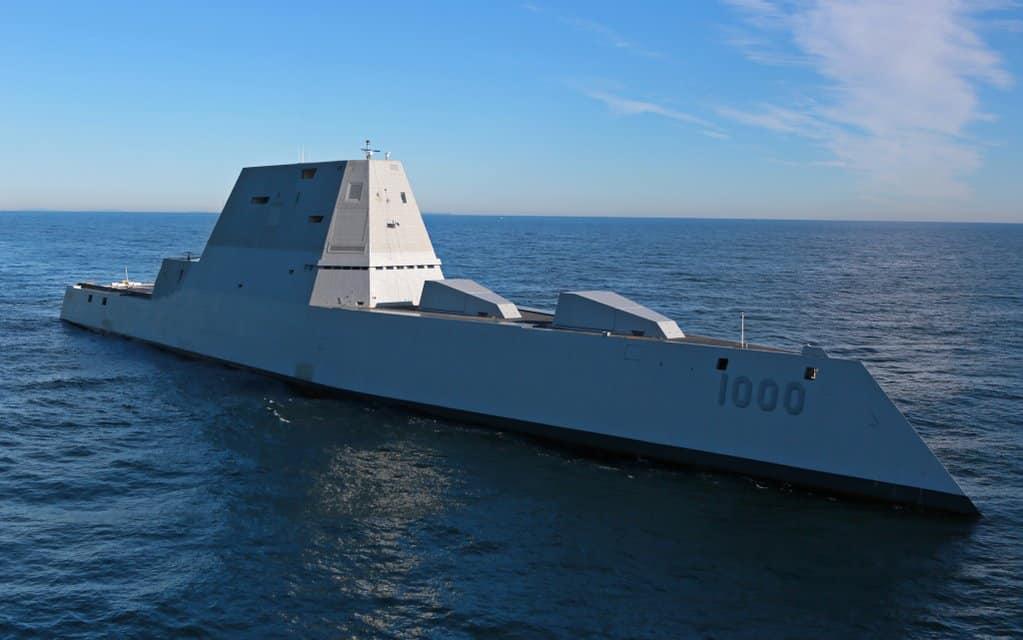 RT @MachinePix: The USS Zumwalt's…