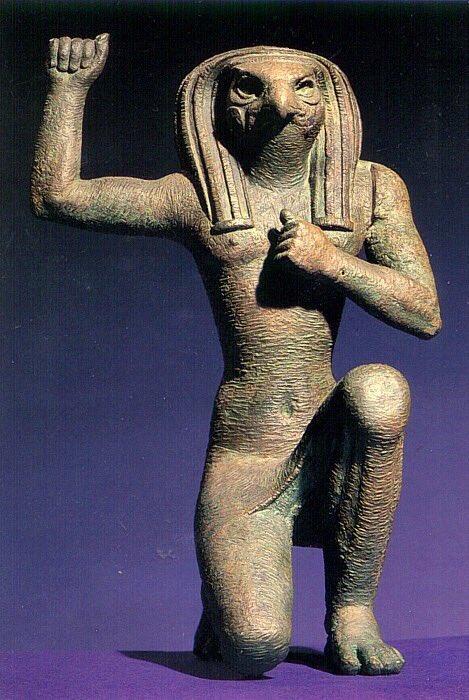 RT @HistoryNeedsYou: Horus, from Ancient…