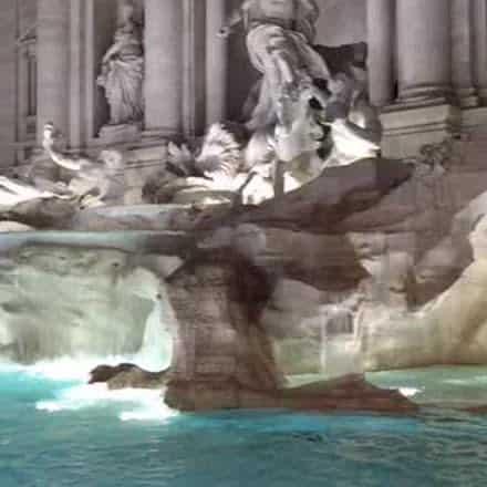 RT @SaveRome: |REPLAY| Trevi Fountain…