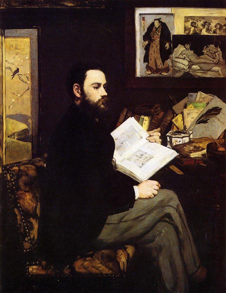 RT @EuropesHistory: Portrait of Émile…
