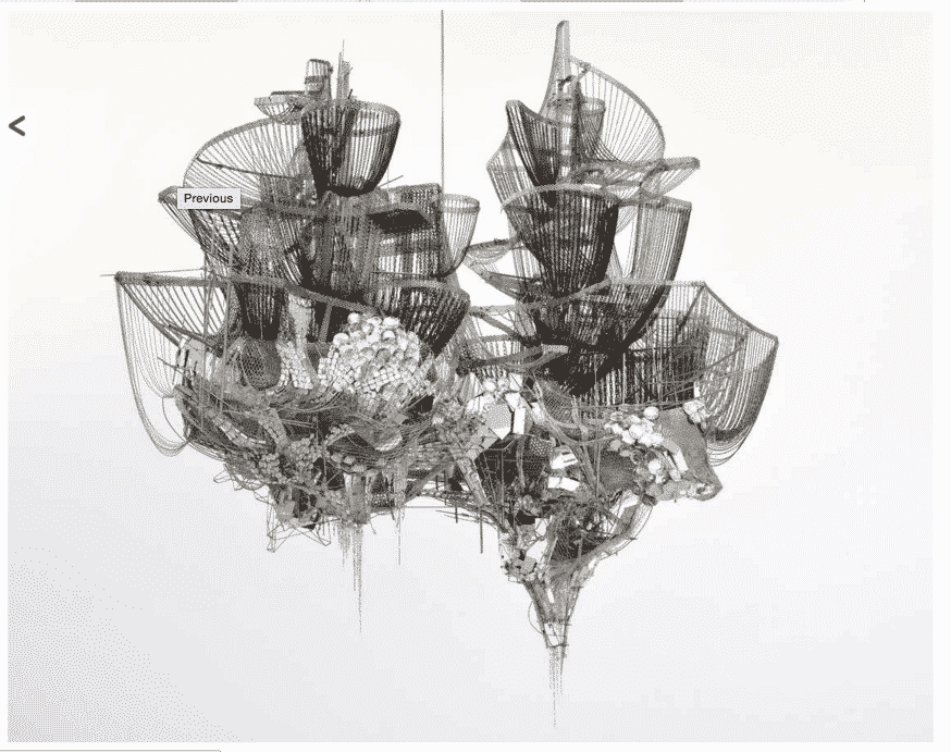 Lee Bul's Misremembered Lines 2011…