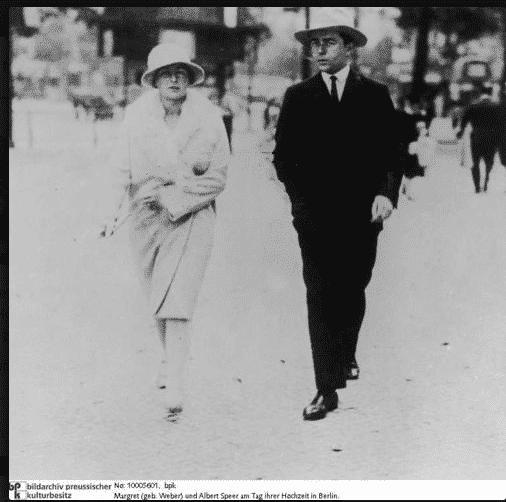 Margarete and Albert Speer on…