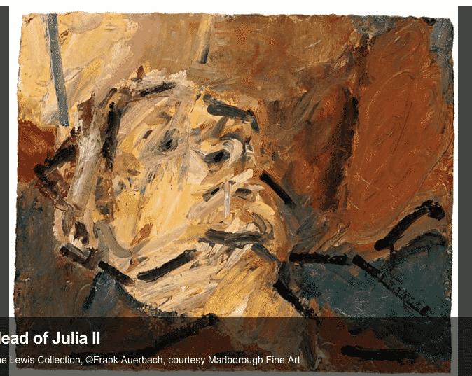 Auerbach Reclining Head of Julia…