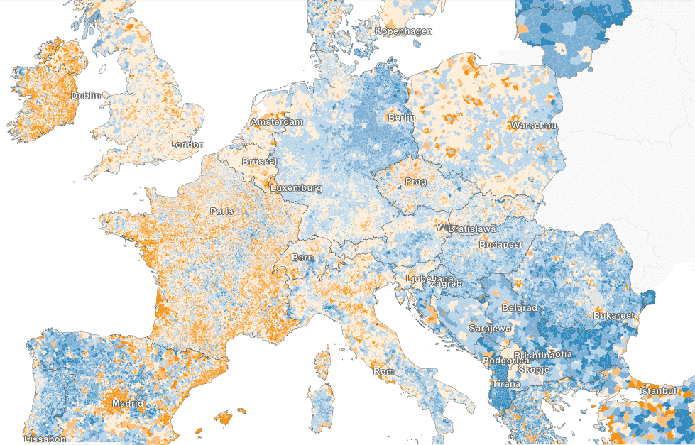 RT @olafcramme: Great map: where…