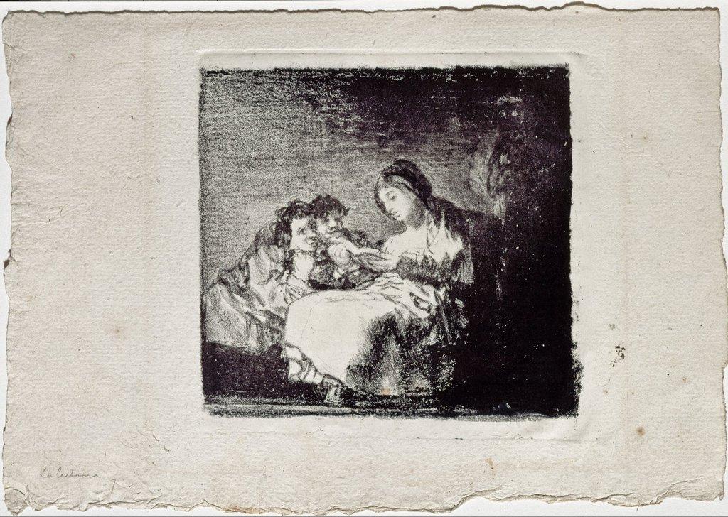 RT @berfrois: Francisco Goya, Woman…