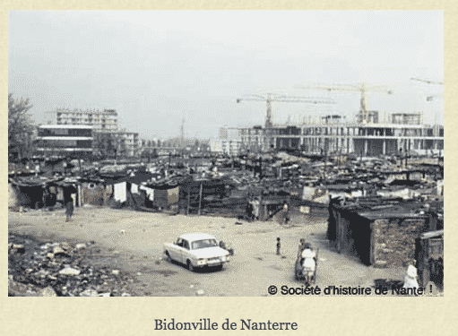 Nanterre Bidonville with the new…
