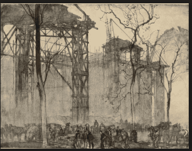 More Brangwyn, Building the New…