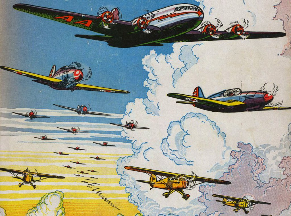 RT @printmag: Vintage Illustrated Aviation…