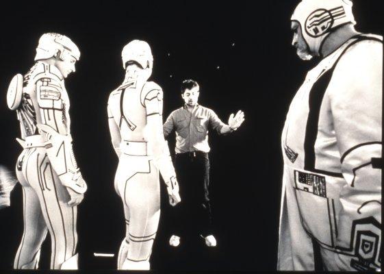 RT @TATJANASL: Steven Lisberger directing…