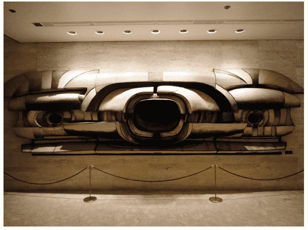 Lee Bontecou Lincoln Center 1964…