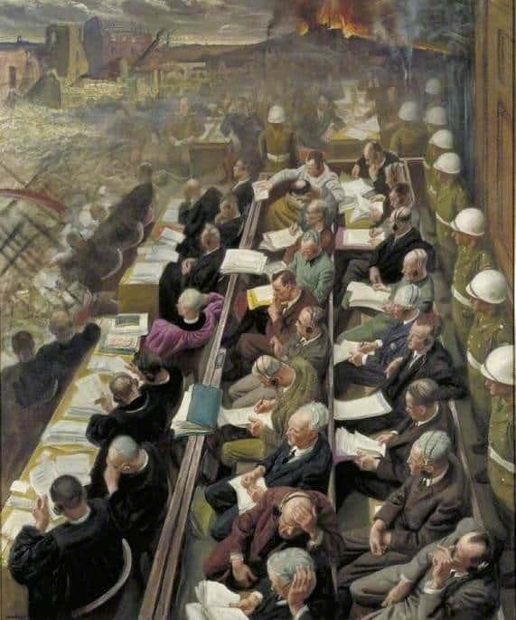 RT @DrLivGibbs: The Nuremberg Trial…