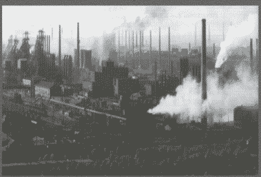 Anshan steel works in 1950s…