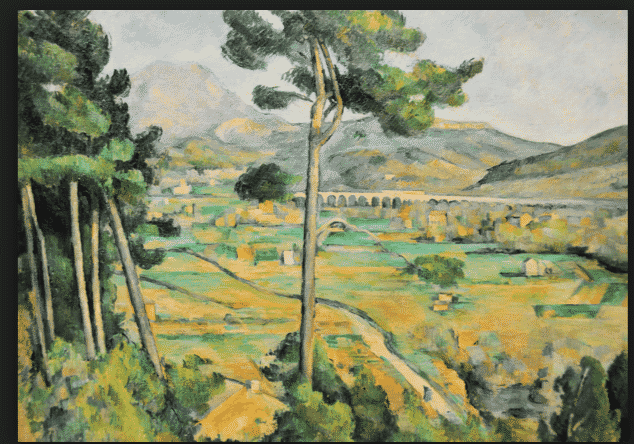 Cezanne's Mt St Victoire at…