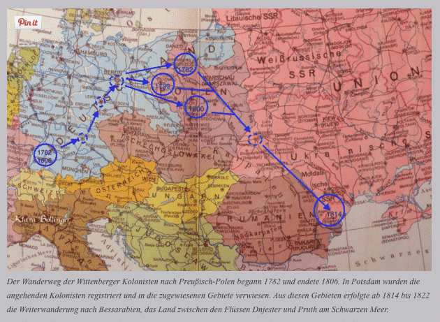 Extraordinary itinerary of Swabian migrants…