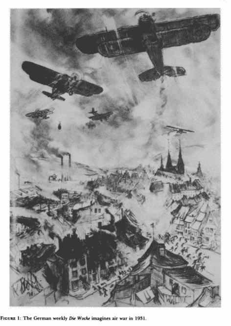Air war as imagined by…
