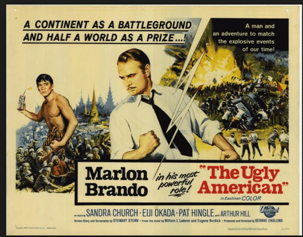 The Ugly American, film version…
