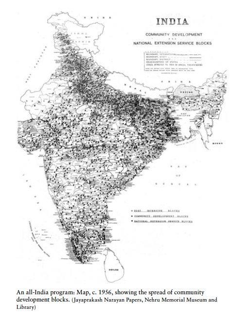 Community development spreads across India…