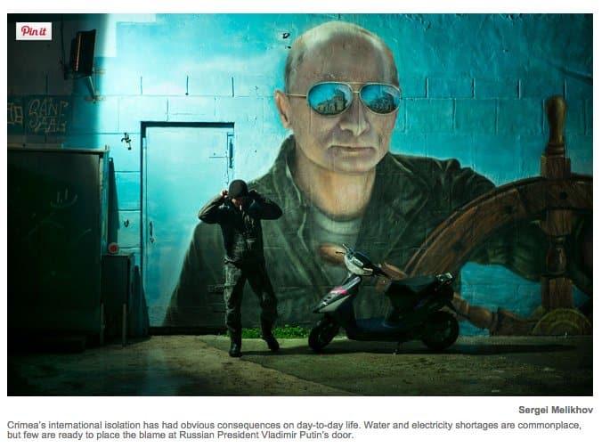 Putin Mural in Crimea: Life…
