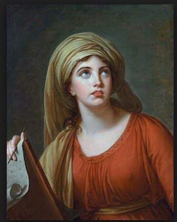 Le Brun's Emma Hamilton lover…