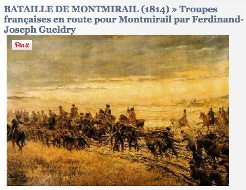 Gueldry Napoleons army en route…