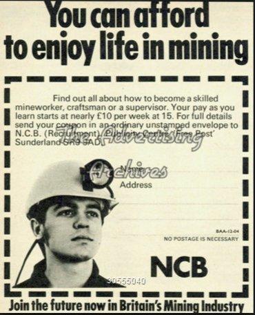 1970s NCB advertising: When British…