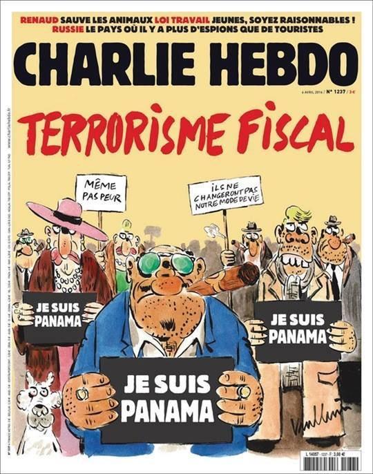 RT @ianbremmer: Charlie Hebdo for…