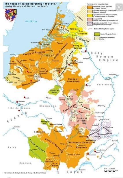 The Duchy of Burgundy victim…