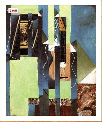 Died tragically young, Juan Gris…