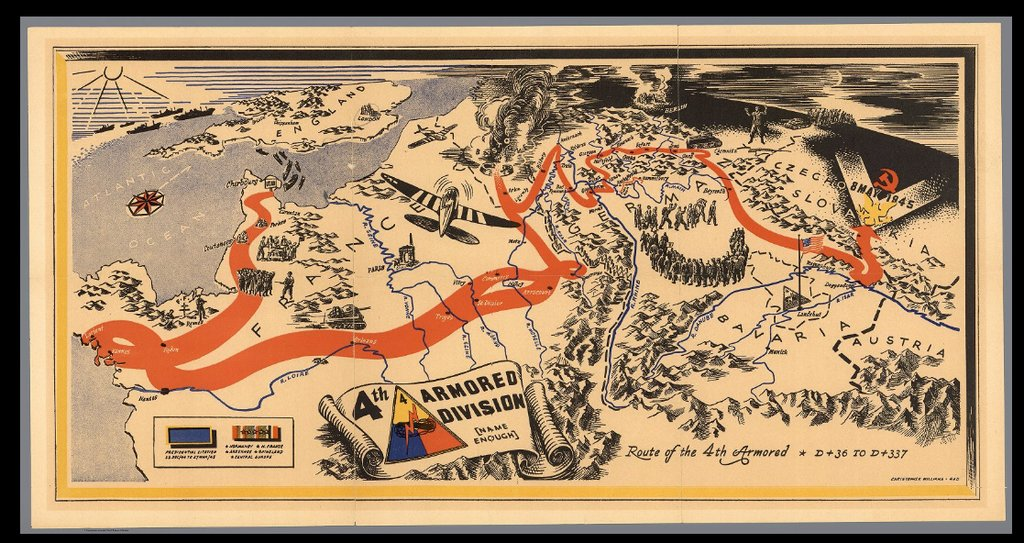 Fantastic map collection: Route of…