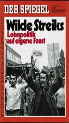 Foreign workers at Ford Cologne…