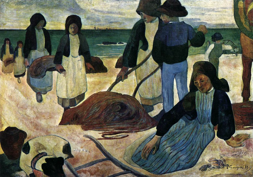 RT @ElisabethRosdal: Paul Gauguin (French,1848-1903)  ''The Seaweed…