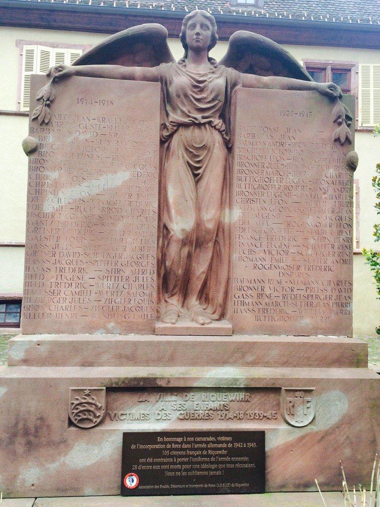 War memorial in Riquewihr honoring…