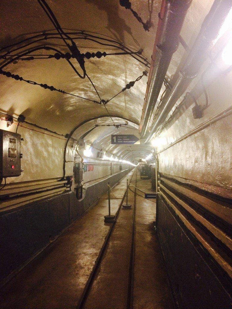 the main tunnel at Shoenenburg:…