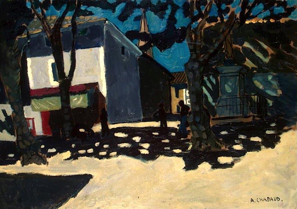 RT @BertassoClaudio: Auguste Chabaud, Paysage…