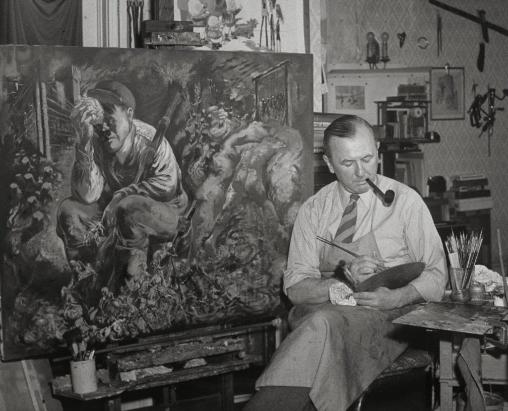 RT @RPerezChaves: #GeorgeGrosz in his…