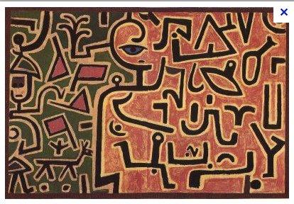Klee's Vorhaben or Project (1938)…