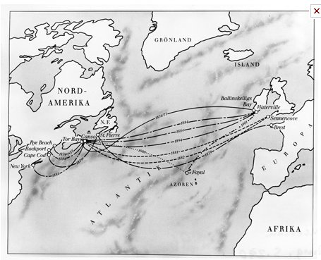 Transatlantic cable network stretched in…