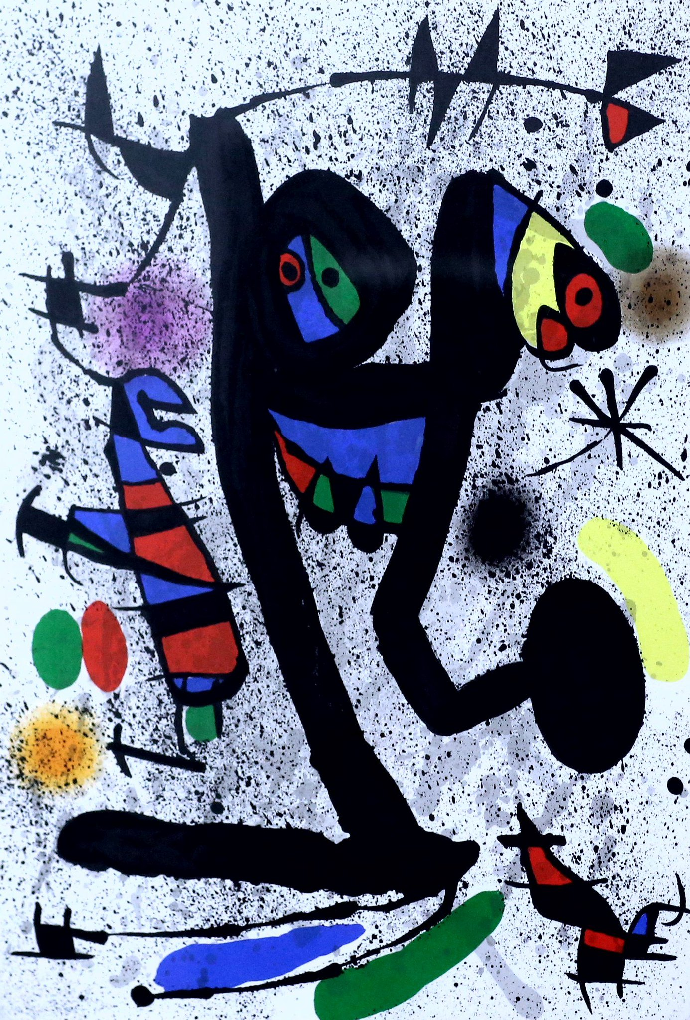 "RT @MenschOhneMusil: Joan Miro, ""Les…"