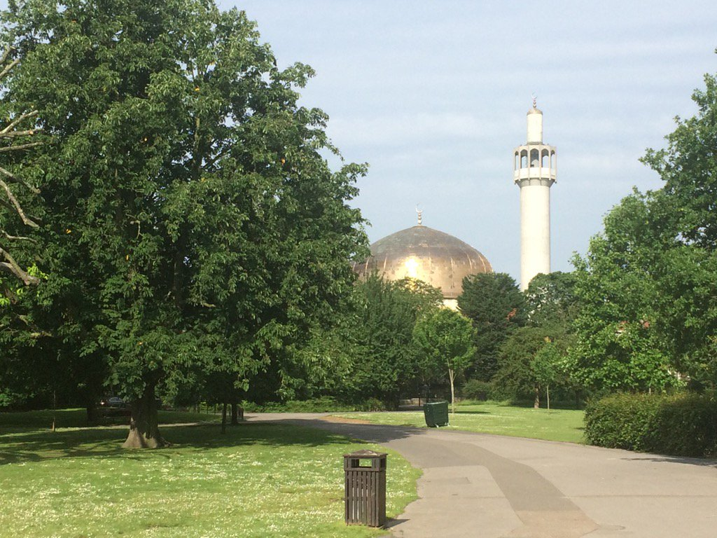 Regents park mosque looking particularly…