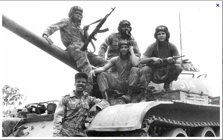 Battle of Cuito Cuanavale Angola…