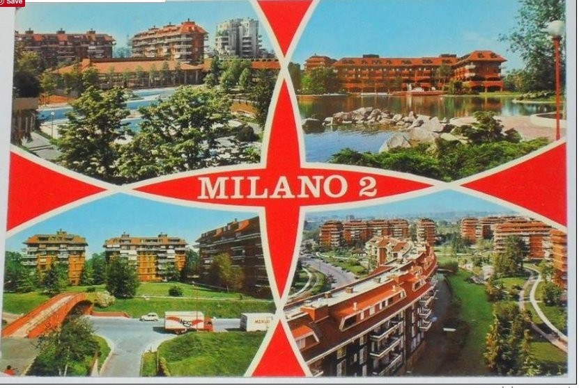 Milano Due the 1972 new…